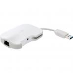 Kanex DualRole USB 3.0 to USB Hub/Gigabit Ethernet Bağlantısı