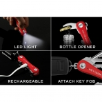 KeySmart Pro Akıllı Anahtarlık-Red
