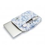Kinmac Laptop Çantası (13inç)-Blue Leaf