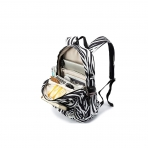 Kinmac Laptop Sırt Çantası (15 inç)-Zebra