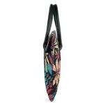 Kinmac Sleeve Çanta (11 inç-13.3 inç)-Maple Leaf Black