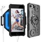 LOVPHONE Apple iPhone 7/8 Kol Bandı ve Kılıf (L)