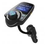 LeFun Bluetooth FM Verici USB Şarj Cihazı Araç Radyo Adaptörü Seti