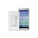 Leviton DW15S-1BZ Akıllı Wi-Fi 15A LED/Akkor Elektrik Düğmesi