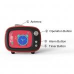 Lofree QTV Bluetooth Wireless Hoparlör-Blue