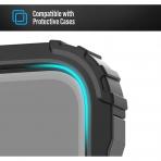 Magglass iPhone 12 Pro Max Mat Temperli Cam Ekran Koruyucu