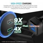 Maxboost USB C Araç Şarj Cihazı
