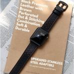 Mifa Apple Watch Deri Kayış (42mm)-Black