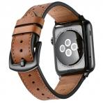 Mifa Apple Watch Deri Kayış (42mm)-Brown