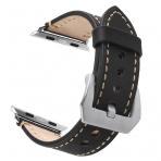 Mkeke Apple Watch Deri Kayış (42mm)-Black