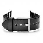 Mkeke Apple Watch Vintage Deri Kayış (42mm)-Black