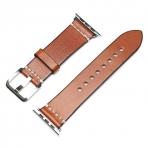 Mkeke Apple Watch Vintage Deri Kayış (42mm)-Brown