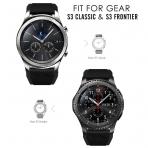 MoKo Samsung Gear S3 Soft Silikon Kayış-Black
