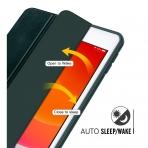 MoKo iPad Kalem Bölmeli Kılıf (10.2 inç)(7.Nesil)-Dark Green