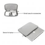 Mosiso Macbook 11 inç Su Geçirmez Çanta-Grey