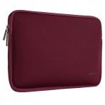 Mosiso Macbook 13 inç Su Geçirmez Çanta-Wine Red