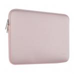 Mosiso Macbook 13 inç Su Geçirmez Çanta-Baby Pink