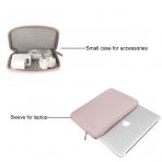 Mosiso Macbook 15 inç Su Geçirmez Çanta-Baby Pink