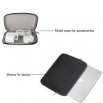 Mosiso Macbook 15 inç Su Geçirmez Çanta-Black