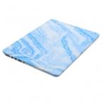 Mosiso Macbook Pro Retina Mermer Desenli Kılıf (15.4 inç)-Blue Marble