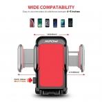 Mpow Araç İçin Telefon Tutucu (Vantuz/Vakumlu)-Red