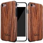 NeWisdom Apple iPhone 7 Sandal Slim Wooden Kılıf