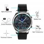 OMOTON Samsung Gear S3 Temperli Cam Ekran Koruyucu (3 Adet)