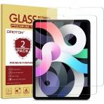 OMOTON iPad Air 4 Temperli Cam Ekran Koruyucu (10.9 inç)(2 Adet)