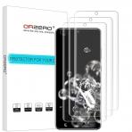 Orzero Samsung Galaxy S20 Ultra Ekran Koruyucu Film (3 Adet)