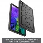 Poetic Apple iPad Pro TurtleSkin Serisi Kılıf (11 inç)(2020)-Black