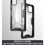 Poetic Apple iPhone 11 Affinity Serisi Kılıf (MIL-STD 810G)-Clear