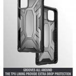 Poetic Apple iPhone 11 Affinity Serisi Kılıf (MIL-STD 810G)-Smoke