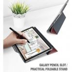 Poetic Galaxy Tab S4 Lumos X Silikon Kılıf (10.5 inç)-Rose Gold