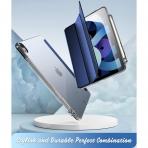 Poetic iPad Air 4 Lumos Serisi Kılıf (10.9 inç)-Navy Blue