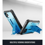 Poetic iPhone 11 Pro Max Revolution Serisi Kılıf (MIL-STD-810G)-Blue