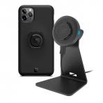 Quad Lock iPhone 11 Pro Kablosuz Şarj Aleti Ve Masa Standı Seti