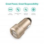 RAVPower Araç Şarjı-Golden