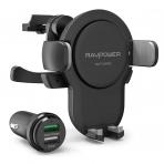 RAVPower RP-SH015 Qi Araç İçi Kablosuz Şarj Cihazı