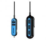 RapidX X5 USB Araç Şarj Cihazı-Blue