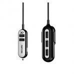 RapidX X5 USB Araç Şarj Cihazı-Black White