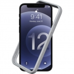 RhinoShield iPhone 12 Pro Max CrashGuard NX Bumper Kılıf (MIL-STD-810G)-Grey
