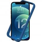 RhinoShield iPhone 12 Pro Max CrashGuard NX Bumper Kılıf (MIL-STD-810G)-Blue