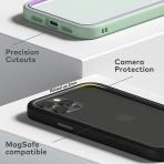 RhinoShield iPhone 12 Pro Max CrashGuard NX Bumper Kılıf (MIL-STD-810G)-Black