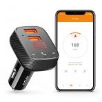 Roav Bluetooth Alıcı/FM Verici Adaptör/Araç Şarjı/Konum Belirleyici