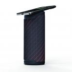 SCOSCHE BoomBottle MM Su Geçirmez Bluetooth Hoparlör-Red Stripe