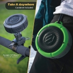 SCOSCHE BoomBuoy Suya Dayanıklı Bluetooth Hoparlör-Green
