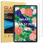SPARIN Galaxy Tab S7 Plus Temperli Cam Ekran Koruyucu (12.4 inç)(2 Adet)
