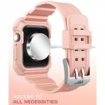 SUPCASE Apple Watch 4 Unicorn Beetle Pro Kılıf (44mm)-BBPink