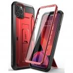 SUPCASE Apple iPhone 11 Pro Max Unicorn Beetle Pro Serisi Kılıf-Red