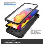 SUPCASE LG V40 ThinQ Unicorn Beetle Pro Serisi Kılıf-Black